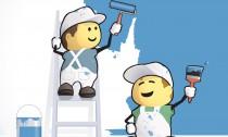 Ako vymaľovať svoj dom, alebo byt